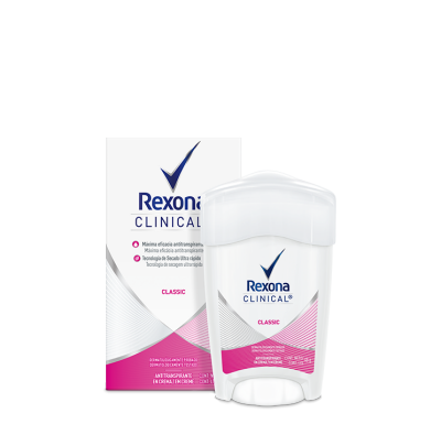 REXONA Clinical antitranspirante 48gr