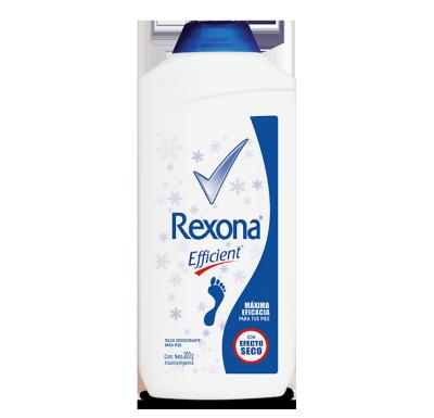 REXONA Efficient desodorante pédico talco 200g