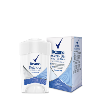 Rexona Women Maximum Protection Clean Scent Anti-Transpirant Cremestick 45ml