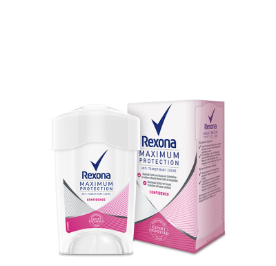 Rexona Women Maximum Protection Confidence Anti-Transpirant Cremestick 45ml