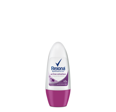 Desodorante Antitranspirante Rexona Fem Rollon ACTIVE EMOTION 50ml