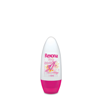Desodorante Antitranspirante Rexona_Teens_Tropical energy_roll on