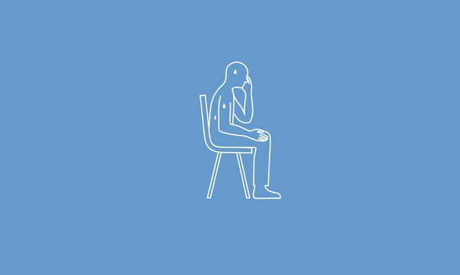 sitting, excessive sweating even when sitting