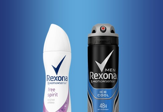 Rexona Men and Women Motion Sense