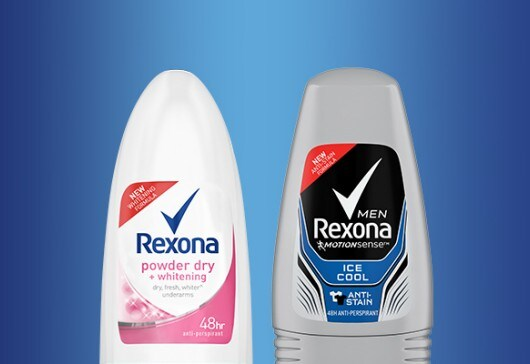Rexona Men and Women MotionSense