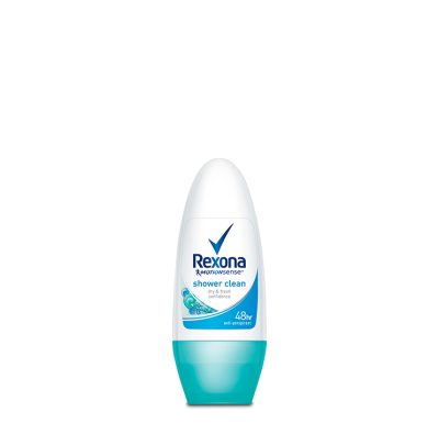 Rexona Women Shower Clean Roll-on Antiperspirant Deodorant 50ml