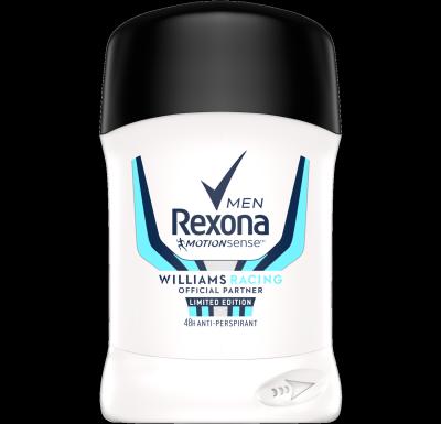 Rexona Men Williams Racing tuhý antiperspirant
