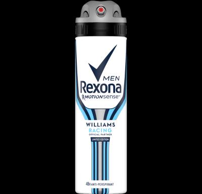 Rexona Men Williams Racing antiperspirant sprej