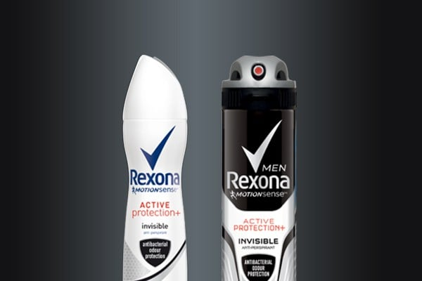 Antyperspiranty Rexona Invisible Black and White dla niej i dla niego