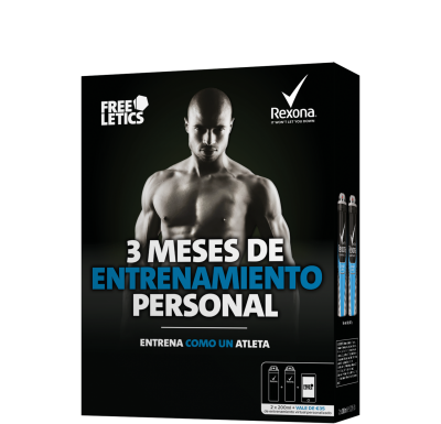 Pack Freeletics Men 2x200 ml Cobalt